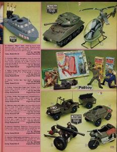 Old Catalogues…  Corgi Toy Catalogue page (1980/81) and Argos